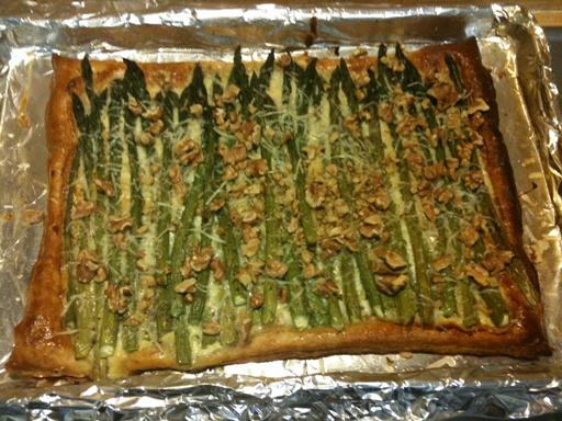 picture: asparagus tart